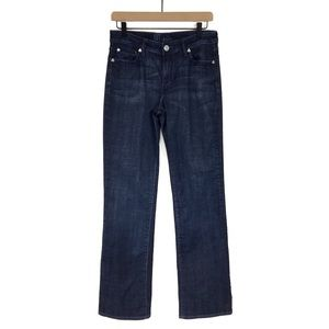 Kut from the Kloth Dark Wash Straight Leg Jean 6